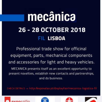 Meet our products on Mecanica Exhibition!