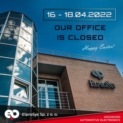 We inform that 15 VIII 2019 our office will be closed.
